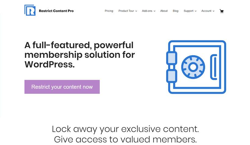 Restrict Content Pro membresía en WordPress